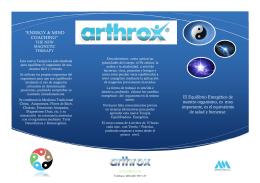 detalle. - Arthrox