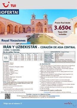 3.650€ - TravelOfertas