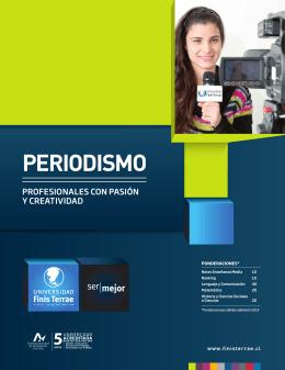 PERIODISMO - Universidad Finis Terrae
