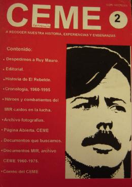 Revista CEME Nro 2
