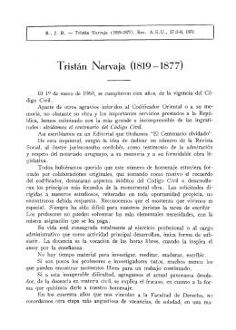 Tristán Narvaja (1819