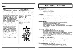 Curso 2003/04 – Verano 2004