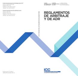 Reglamento de Arbitraje ICC
