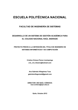 pruebas de aceptación - Repositorio Digital EPN