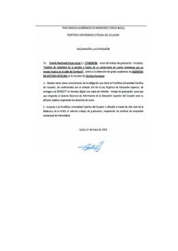 Edad - Repositorio PUCE - Pontificia Universidad Católica del
