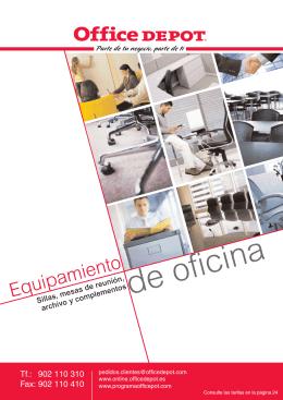 Equipamiento de oficina - Programa Office Depot España