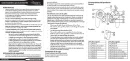 Control inalámbrico para GameCube/Wii Contenido de la ca
