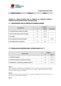 Epígrafe 61 - Grupo Cooperativo Cajamar