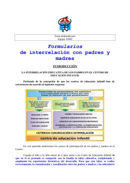 Introducción - Asociación Mundial de Educadores Infantiles