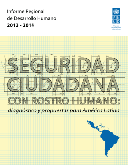 Informe de Desarrollo Humano para América Latina