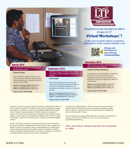 Virtual Workshops™! - Liturgy Training Publications