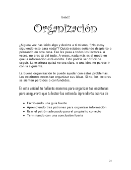 Organización - Misd-4th