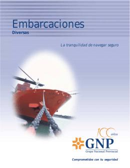Embarcaciones - Contacto GNP