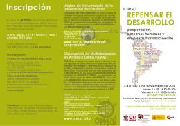 Programa - Universidad de Córdoba