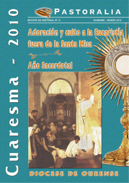 Pastoralia 16 - Obispado de Ourense