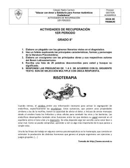 RISOTERAPIA - WebColegios