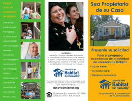 Sea Propietario de su Casa - Asheville Area Habitat for Humanity