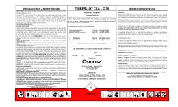 TIMBERLUX CCA – C 70 - Servicio Agrícola y Ganadero