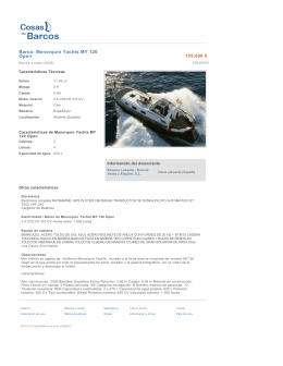 Barco: Menorquin Yachts MY 120 Open