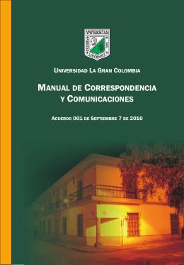 manual de correspondencia - Intranet UGC