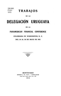 DELEGACIÓN URUGUAYA