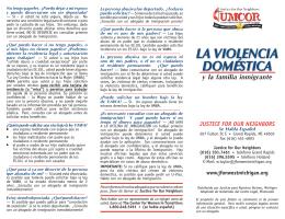 VAWA BrochureSPAINISH.indd