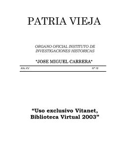 PATRIA VIEJA