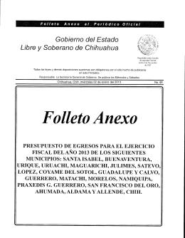Folleto Anexo - H. Congreso del Estado de Chihuahua