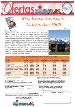 Hoteles Nuevos de Nieve:Plantilla 9 hoteles