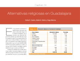Alternativas religiosas en Guadalajara