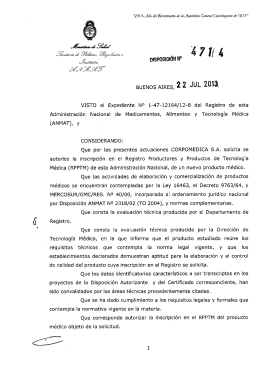 Disposición 4714 - 13