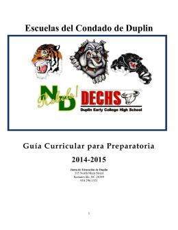 Escuelas del Condado de Duplin