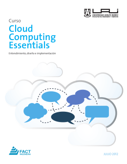 Cloud Computing Essentials - Universidad Adolfo Ibáñez