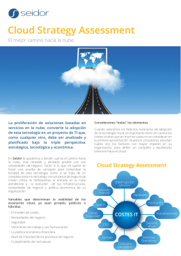 Cloud Strategy Assessment