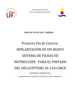 Proyecto Fin de Carrera - Universidad de Sevilla