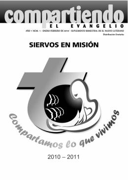 ENERO-FEBRERO DE 2010 - LutheranMissiology.org
