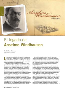 El legado de Anselmo Windhausen