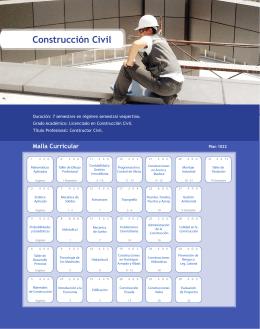 Construcción Civil - Departamento de Ingeniería en Obras Civiles