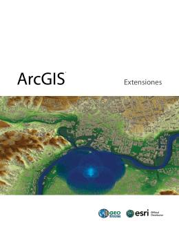 ArcGIS® - Geotecnologias
