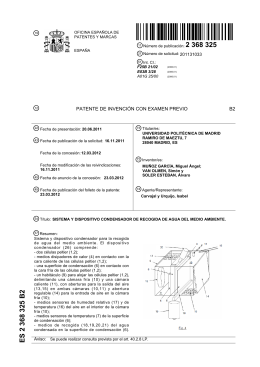 2 368 325 ES 2 368 325 B2 - Archivo Digital UPM