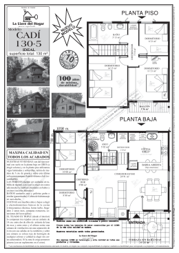 CADÍ 130-5 - casas de madera la llave del hogar