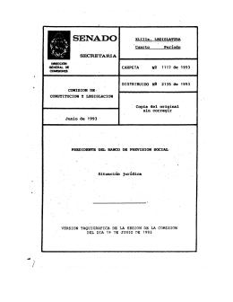 SENADO - Poder Legislativo