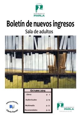 OCTUBRE 2014 - Ayuntamiento de Parla