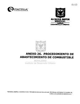 anexo 26. procedimiento de abastecimiento de combustible
