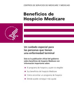 Beneficios de Hospicio Medicare