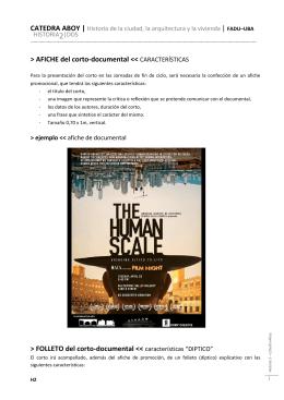 afiche y folleto 2014