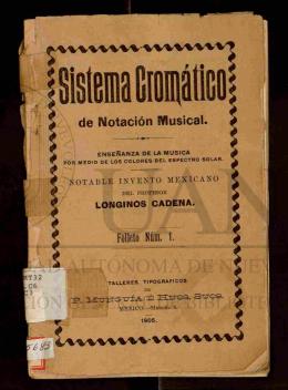 Sistema cromático de notación musical : enseñanza de la música