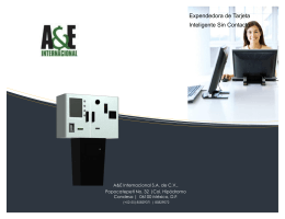 Brochure - A&E Internacional