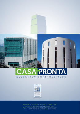 Descarga - Casa Pronta