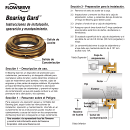 Bearing GardTM - Flowserve Corporation